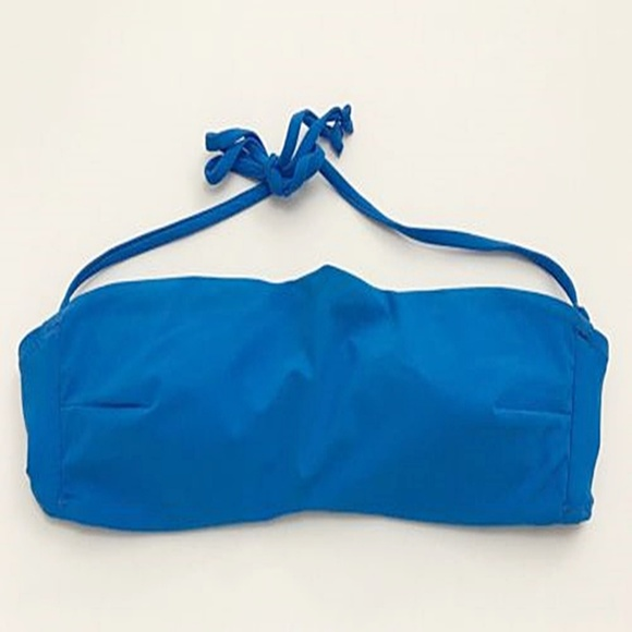 Zara Other - Zara Accessories Bandeau Bikini Bra Swim Top Blue
